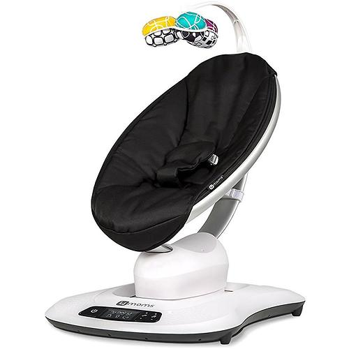 Кресло-качалка 4moms MamaRoo4 Black (10)