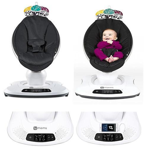 Кресло-качалка 4moms MamaRoo4 Grey Mesh 4.0 (11)