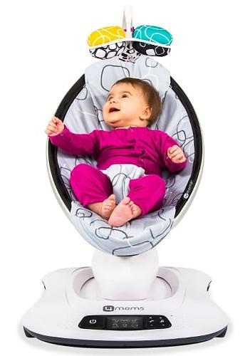 Кресло-качалка 4moms MamaRoo4 Multi Plush (15)