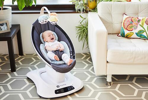 Кресло-качалка 4moms MamaRoo4 Grey Mesh 4.0 (9)
