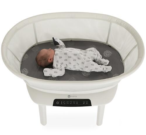 Колыбель для сна 4moms MamaRoo Sleep Grey (8)