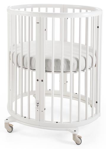 Кроватка-трансформер 6в1 MerryHappy Белая (11)