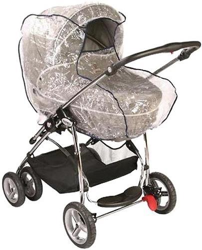 Дождевик для коляски классика с окошком ПВХ (1)