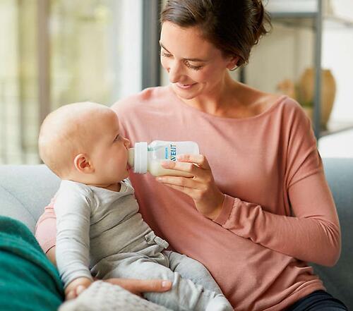 Набор бутылочек Avent Anti-colic c клапаном AirFree 125 мл и 260 мл SCD809/01 (12)