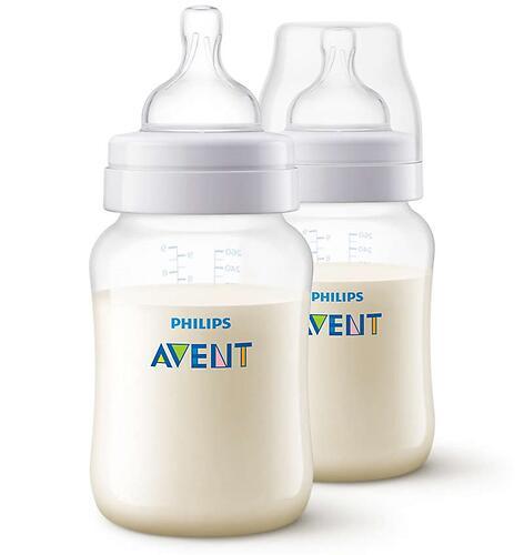 Бутылочки Avent для кормления Anti-Colic 260 мл 1 мес+ 2 шт/уп (5)