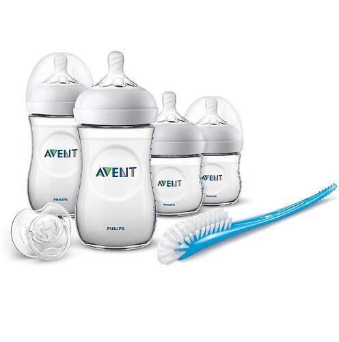 Набор бутылочек Avent Natural для новорожденных SCD301/01 (7)