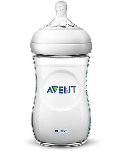 Набор бутылочек Avent Natural для новорожденных SCD301/01 (8)