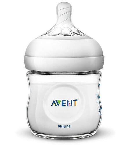 Набор бутылочек Avent Natural для новорожденных SCD301/01 (9)