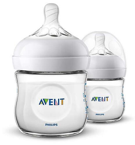 Бутылочки Avent для кормления Natural 125 мл 0 мес+ 2 шт/уп (5)