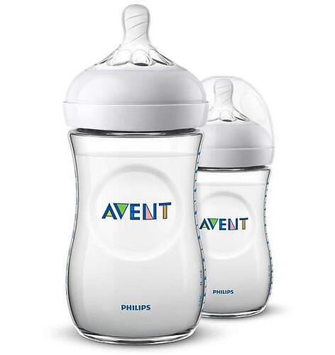Бутылочки Avent для кормления Natural 260 мл 1 мес+ 2 шт/уп (5)