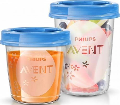 Набор контейнеров Avent 20 шт + 2 ложки (8)