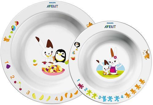 Набор Avent из 2 тарелок SCF708/00 (3)