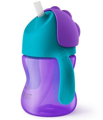 Поильник Avent с трубочкой 200 мл 9 мес+ фиолетовый (4)