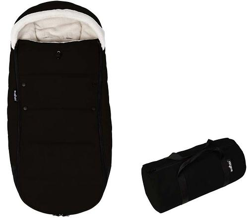 Теплый конверт Babyzen YoYo Footmuff Black New (6)