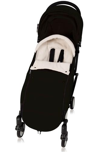 Теплый конверт Babyzen YoYo Footmuff Black New (7)