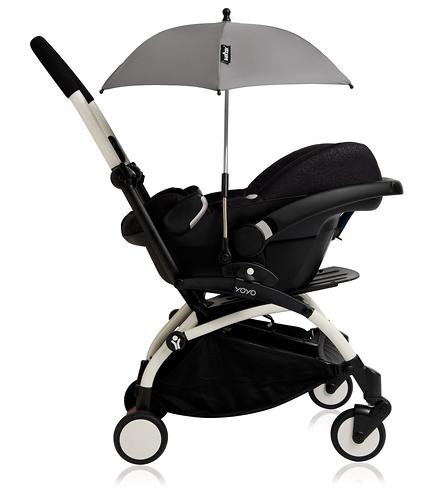 Зонт для Babyzen YoYo Parasol Black (11)