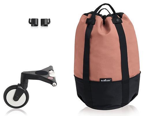 Сумка для коляски BABYZEN YOYO с колесом Rolling Bag Ginger (5)