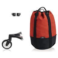 Сумка для коляски Babyzen YoYo с колесом Rolling Bag Red
