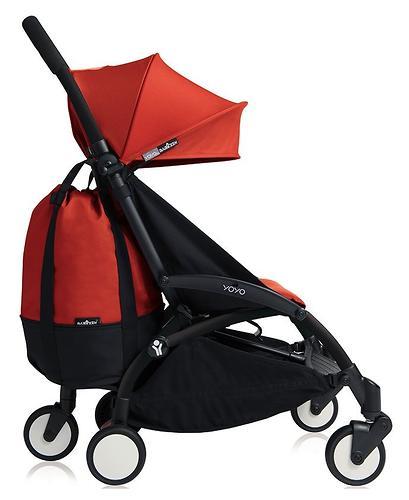Сумка для коляски Babyzen YoYo с колесом Rolling Bag Red (7)