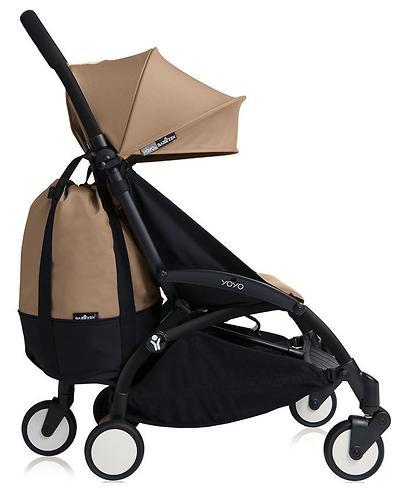 Сумка для коляски BABYZEN YOYO с колесом Rolling Bag Taupe (6)