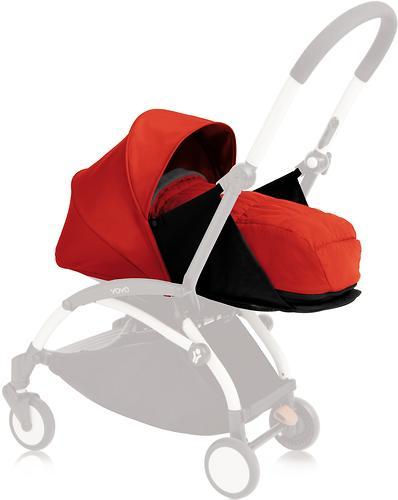 Комплект с цветным вкладышем Babyzen YOYO 0+ с рождения Red (3)