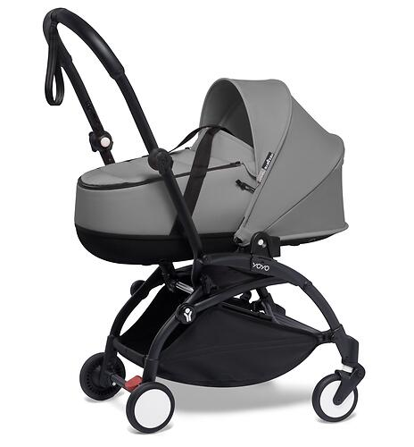 Люлька Babyzen Bassinet YOYO Grey (9)