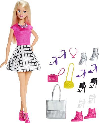 Игровой набор Barbie Модный гардероб с аксессуарами Блондинка (3)