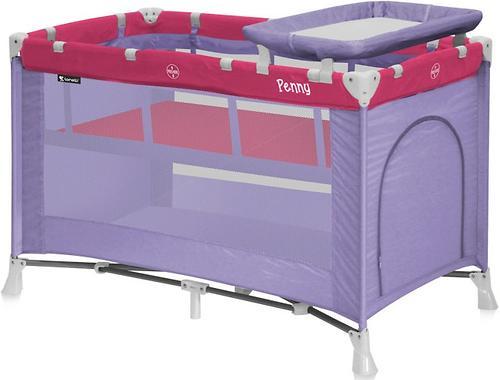 Кровать-манеж Bertoni Penny 2 Rose-Violet 1551 (3)