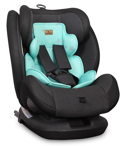 Автокресло Lorelli Corsica Isofix Black and Green 1978 (1)