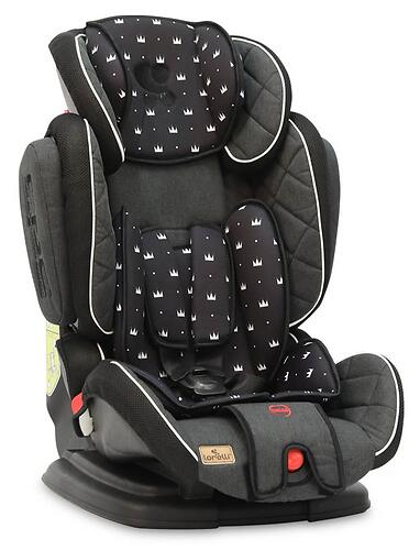 Автокресло Bertoni Magic Premium 9-36 кг Black Crowns 2013 (3)