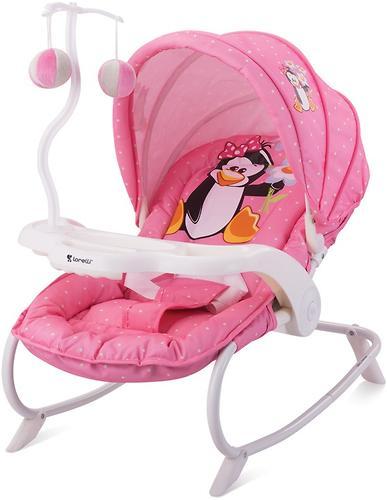 Стульчик-качалка Bertoni Dream Time Pink Penguin 1620 (1)