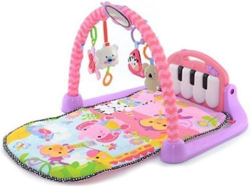 Игровой коврик Lorelli Пианино Розовый (1)