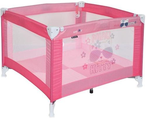 Манеж Bertoni Play Розовый / Pink Kitty 1723 (1)