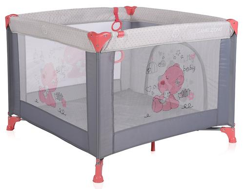 Манеж Bertoni Game Zone Pink&Gray my Baby 1878 (1)