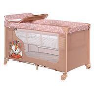 Кровать-манеж Lorelli MOONLIGHT 2 Beige Foxy 2042