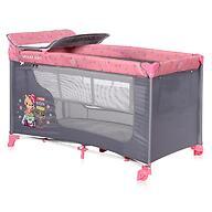 Кровать-манеж Lorelli MOONLIGHT 2 Pink Travelling 2046