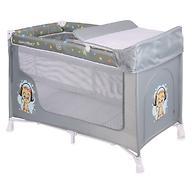 Кровать-манеж Lorelli San Remo 2 Grey CUTE KITTEN 1805
