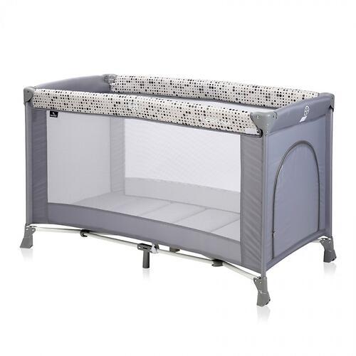 Кровать-манеж Bertoni Verona 1 Grey Dots 2078 (1)