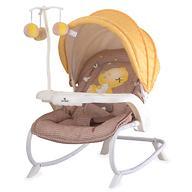 Стульчик-качалка Bertoni Dream Time Beige & Yellow My Baby 1809