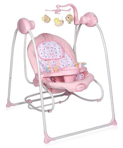 Электрокачели Lorelli Tango Pink (6)