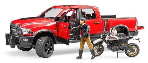 Внедорожник Bruder Ram с мотоциклом Ducati (5)