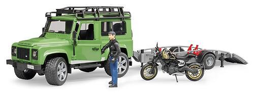 Внедорожник Bruder Ram с мотоциклом Ducati 02-598 (5)