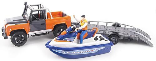 Внедорожник Bruder Ram с водным мотоциклом 02-599 (6)