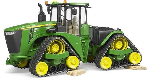 Трактор Bruder John Deere 9620RX гусеничный (9)