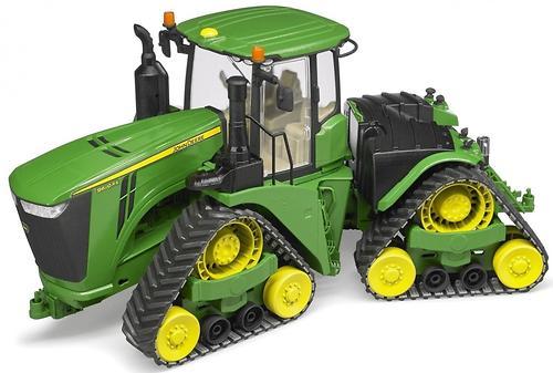 Трактор Bruder John Deere 9620RX гусеничный (10)