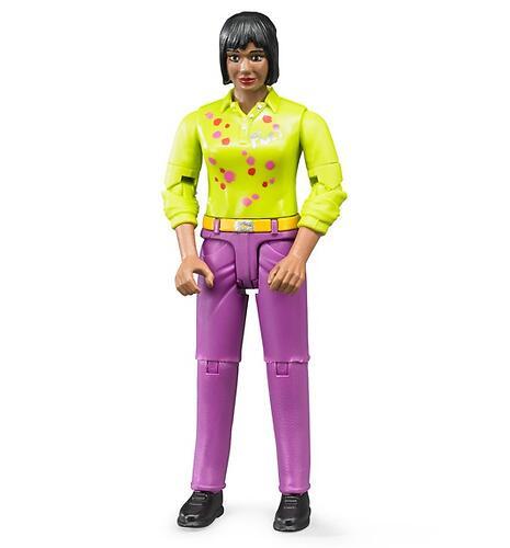 Фигурка женщины Bruder розовые джинсы (1)