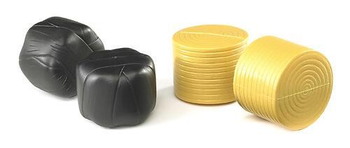 Аксессуары Bruder 4 круглых рулона сена (два упакованных) (1)