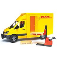 Bruder фургон DHL с погрузчиком MB Sprinter