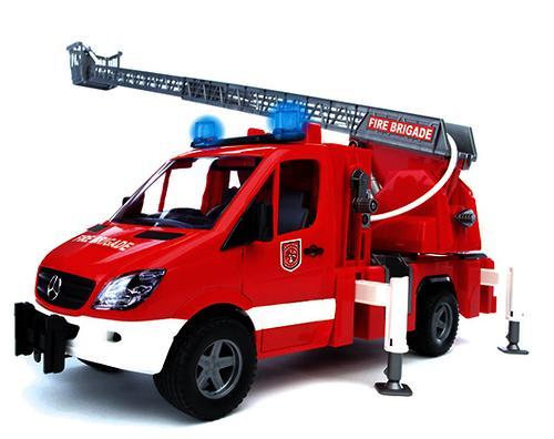 Bruder пожарная машина MB Sprinter (4)