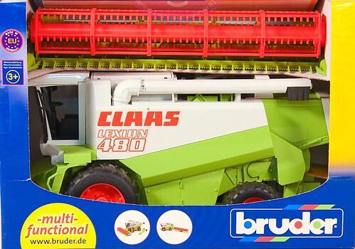Bruder Комбайн Claas Lexion 480 (8)